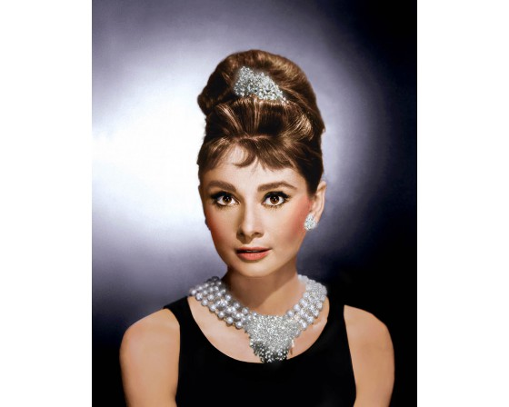 "Audrey Hepburn ""Breakfast at Tiffany's"" - Diamond Dust"
