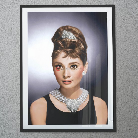 "Audrey Hepburn ""Breakfast at Tiffany's"" - Diamond Dust 2"