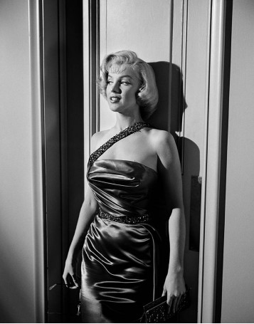"Marilyn Monroe on the Set of ""How to Marry a Millionaire"""