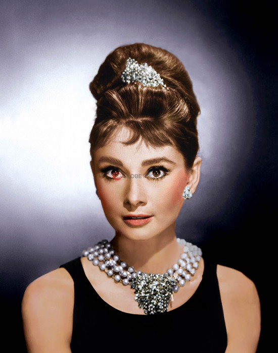 "Audrey Hepburn ""Breakfast at Tiffany's"" 1"