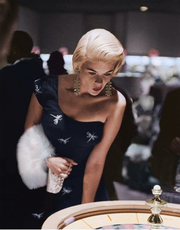 Jayne Mansfield at the Roulette Wheel